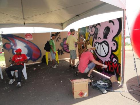 Grafitagem.